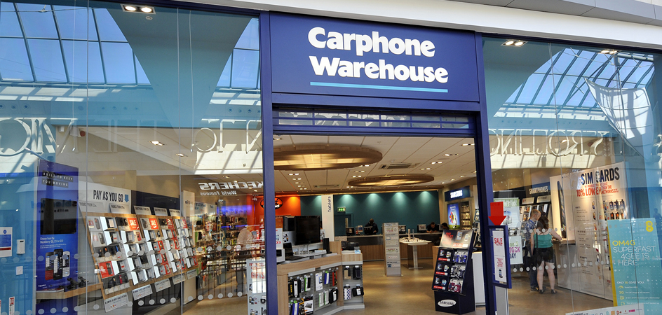 carphone warehouse savings and vouchers